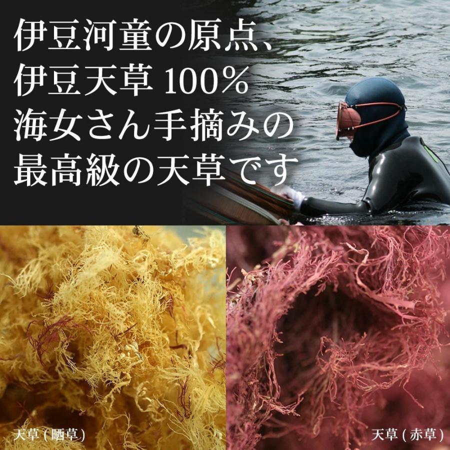 糸寒天 河童の糸寒天 800g 伊豆産天草100% 6cmカット 食物繊維 豊富 送料無料 業務用にも asu|tokoroten|04