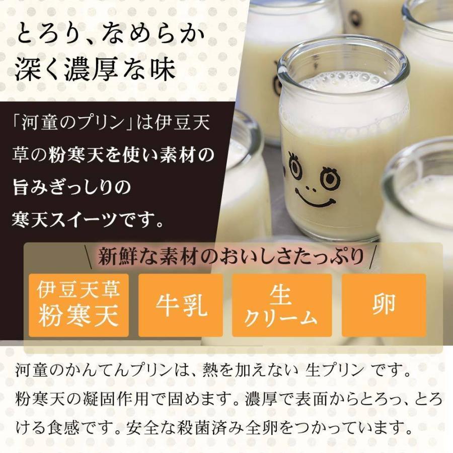 ギフト 河童のプリン セット 無添加 かんてんプリン2個 ミルクかんてん 2個セット スイーツ 冷蔵便|tokoroten|05
