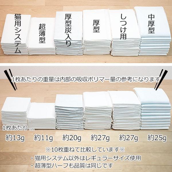 [8.3円 約22g/1枚] 超薄型 ペットシーツ ワイド 600枚 (150枚×4袋) 1回使い捨て ペットシート トイレシーツ おしっこシート ケース 業務用 送料無料|tokoton-dogfood|07