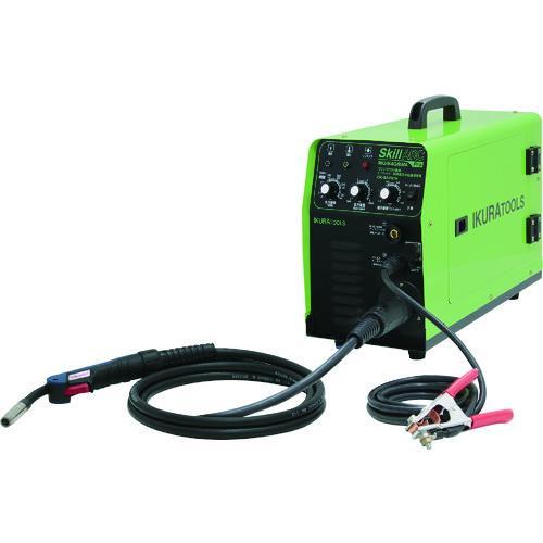 育良精機 100V・200V兼用半自動溶接機(40050) ISK-SA160W
