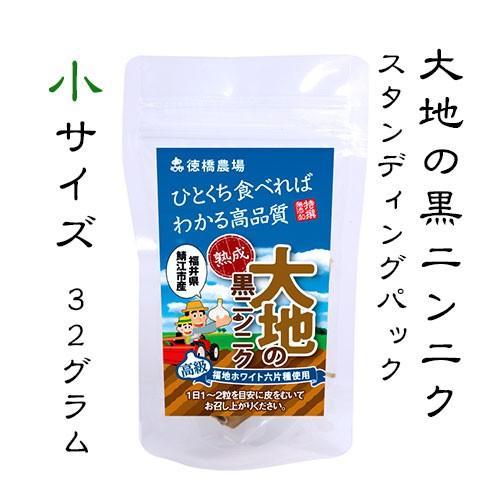 大地の黒ニンニク 500円 小サイズ スタンディングパック|tokuhashinoujyou