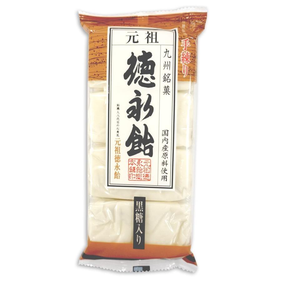 徳永飴(黒糖入り)8枚-4袋セット|tokunagaame