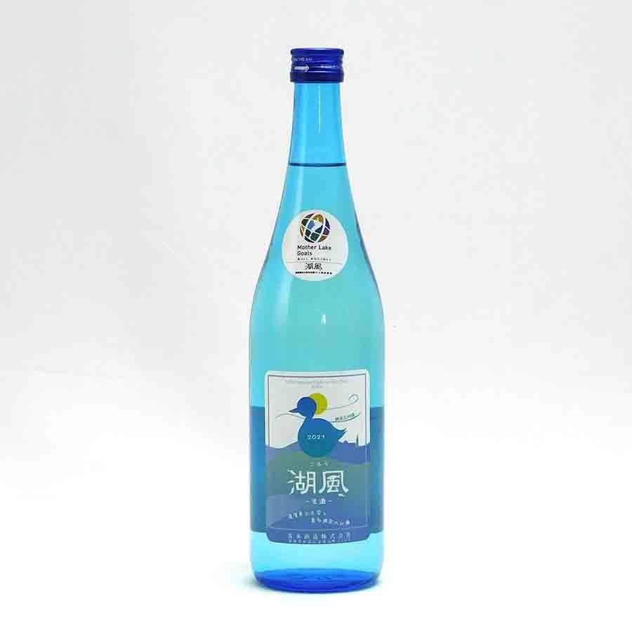 湖風 純米大吟醸 日本晴50 生 喜多酒造 720ml 日本酒/滋賀県 【要冷蔵:4月から10月冷蔵便配送】|tokuriya