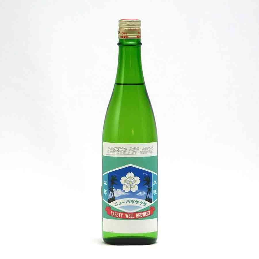 初桜「きもと太郎 Summer Pop Juice」 純米吟醸 生酒 吟吹雪55 安井酒造場 720ml 日本酒/滋賀県 【要冷蔵:4月から10月冷蔵便配送】|tokuriya