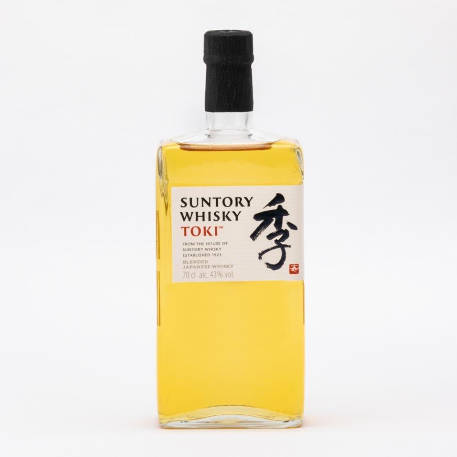 国産ウイスキー「サントリー 季(とき)TOKI」43度 700ml 箱無し 逆輸入ジャパニーズ ブレンディッド ウイスキー 並行輸入品|tokuriya