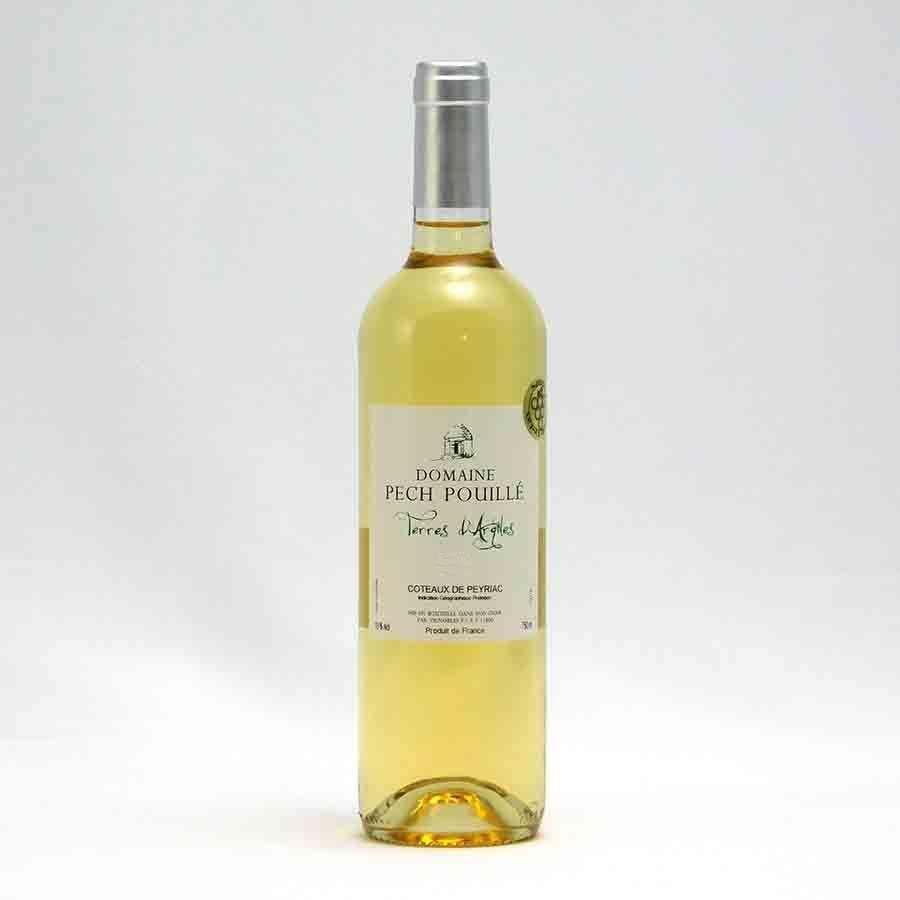 フランスワイン白「シャトー・ペッシュ・プイユ ブラン」 750ml 南仏 (夏クール瓶推奨)|tokuriya
