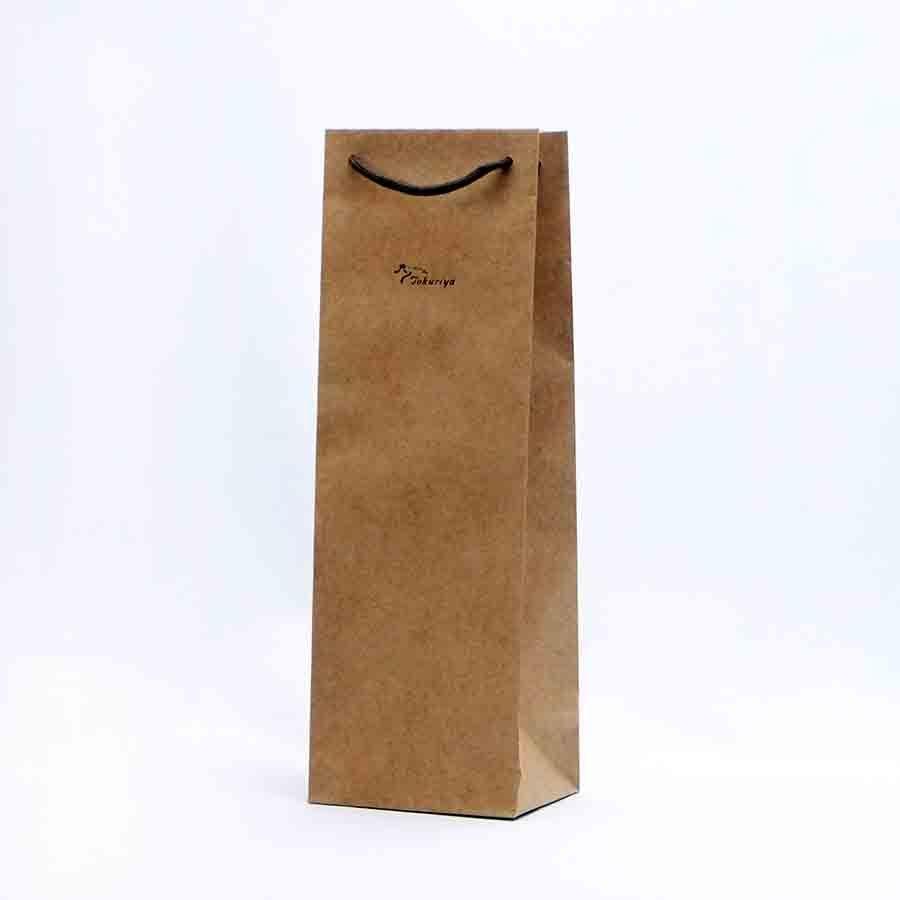 「紙袋」720ml1本箱なし用、1.8L1本箱なし用 ラッピング 手提げ袋|tokuriya