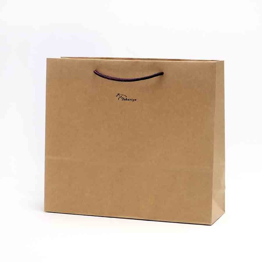 「紙袋」とくりやお福わけセット、呑みくらべセット用(小瓶3本入、小瓶5本入用) ラッピング 手提げ袋 tokuriya