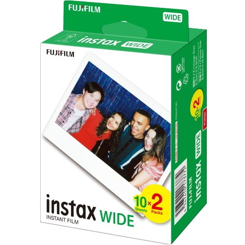 FUJI FILM(富士フィルム)インスタントフィルムinstaxワイド用フィルム【2PX30パック600枚】