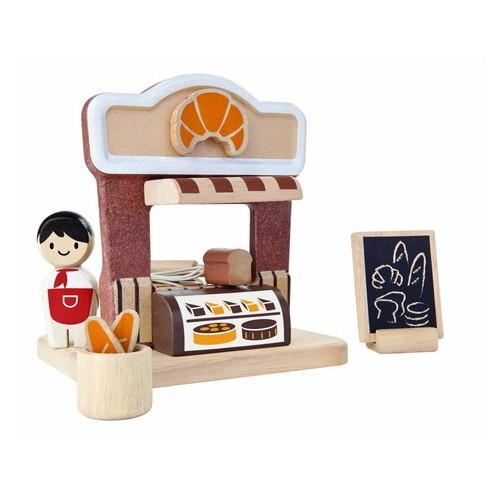 PLANTOYS  プラントイ ベーカリー 木のおもちゃ 知育玩具 木製玩具 リハビリ 指先運動 脳活 グッズ 室内遊び tokutokutokiwa