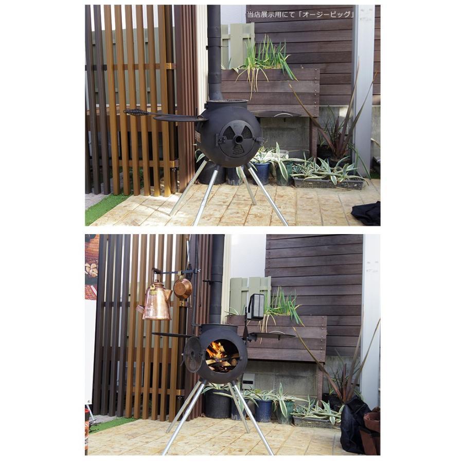 【次回2021年4月末入荷予定】オージーピッグ(Ozpig FIRESIDE Edition)/ファイヤーサイド社【アウトドアクッキング 屋外用薪ストーブ 焚き火台】品番 78000 tokyo-gardening 15
