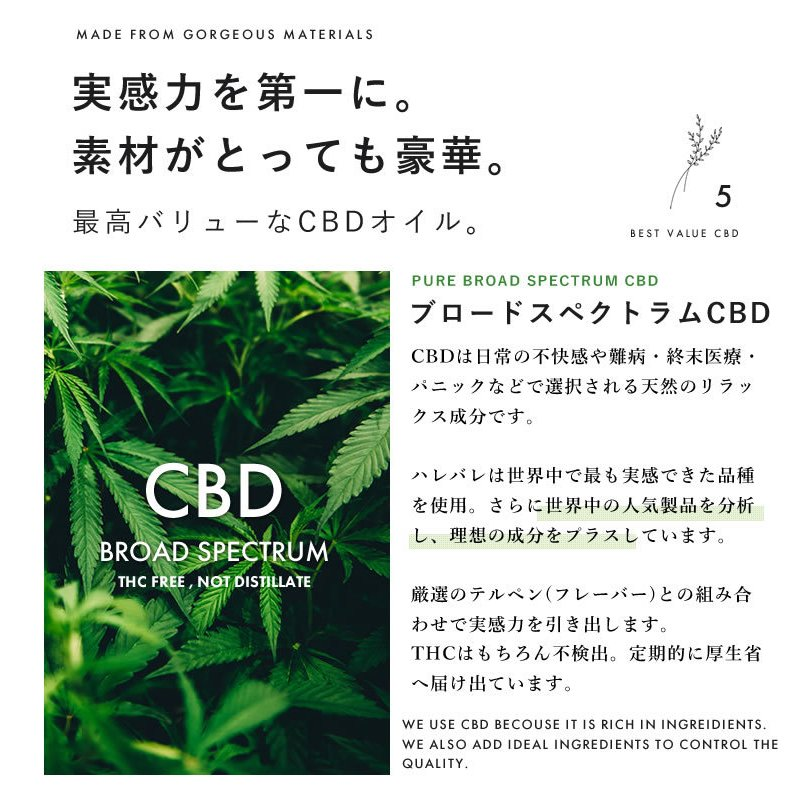 【増量祭】CBD オイル 1500mg 15% 10ml ブロードスペクトラム cbd tokyo-giyaman 09