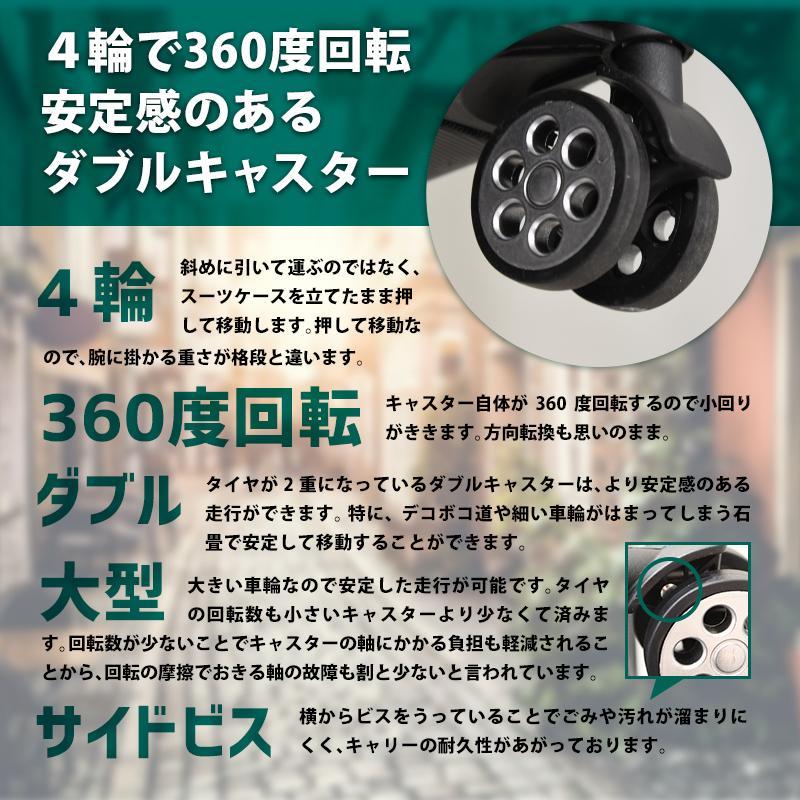 スーツケース 機内持ち込み Sサイズ 容量29L エコノミック 重さ約2.6kg suitcase tokyo-hanger 07
