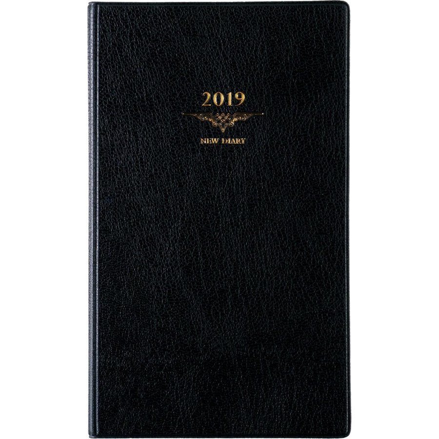 高橋 手帳 2019年 2019年 ウィークリー ニューダイアリー アルファ6 黒 No.103 (2018年12月始まり)