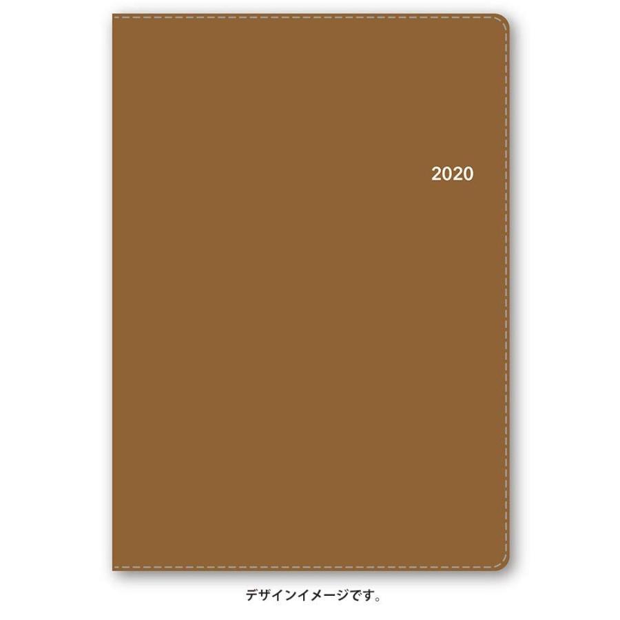 能率 NOLTY 手帳 2020年 A5 ウィークリー エクリ 1 キャメル 6313 AZ (2019年 12月始まり)