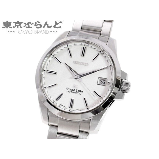 【5%OFF】 グランドセイコー Grand Seiko 9S メカニカル 時計 腕時計 メンズ 自動巻き オートマチック SS ホワイト SBGR055 9S65-00C0 送料無料【】 ♪ 101423468, シャンゼリゼ 18436a6e