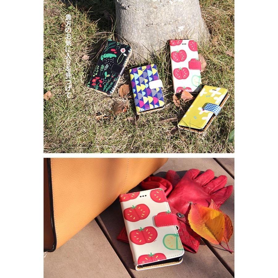 花柄 スマホケース 手帳型 全機種対応 reno5a 北欧柄 かわいい iPhone12 aquos r6 sense4 xperia5ii アンドロイドワンS8 携帯 ケース カバー デザイン tominoshiro 04