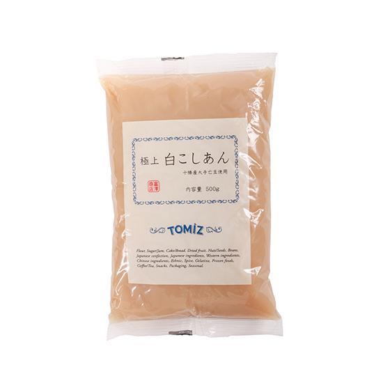 冷蔵便 永遠の定番モデル 贈答 極上 白こしあん 500g TOMIZ 富澤商店 cuoca