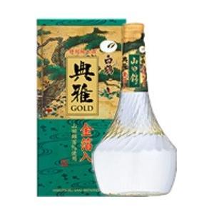 白鶴 典雅ゴールド 金箔入特別純米酒 TGー15N 720ml