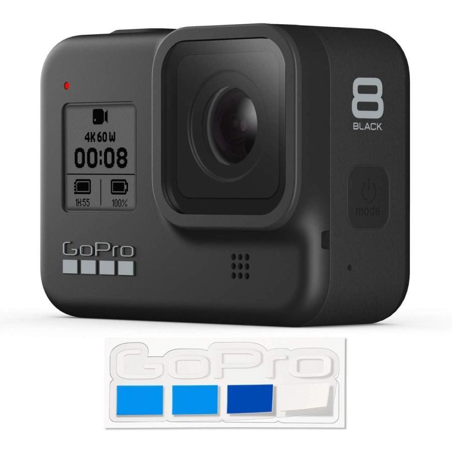 中古 美品 GoPro GoPro HERO8 Black CHDHX-801-FW ブラック ビデオカメラ