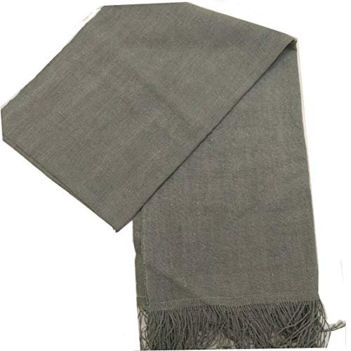GBJWブータン産ストール18008 Indigo Wild silk(野蚕) 80% Cotton 20% tomotomoselectshop