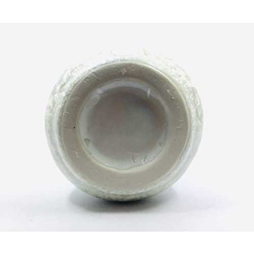 バッチャン焼き ホワイト&ペールグリーングラデーション花瓶(中) tomotomoselectshop 05