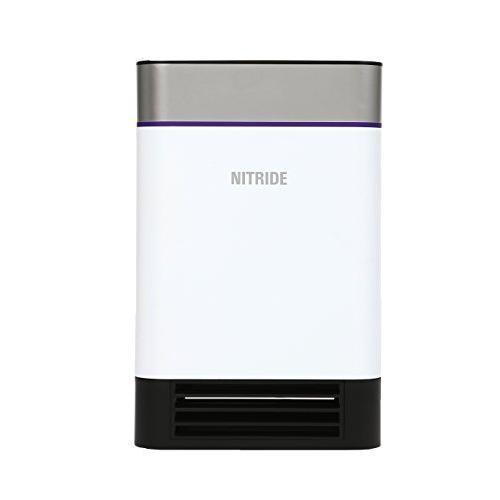 ナイトライドセミコンダクター 殺菌消臭機能付空気清浄機 「LED PURE」 AM1-WH ホワイト LED PURE ホワイト AM1-W