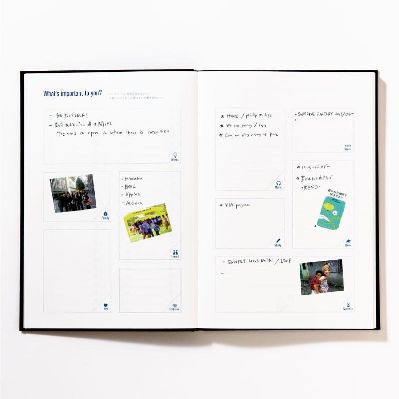 【3冊までメール便可】バケットリスト BUCKET LIST 人生でしたい100のことを書くノート to do パスポル paspol 手帳 夢 旅 人生 PBN tonary 14