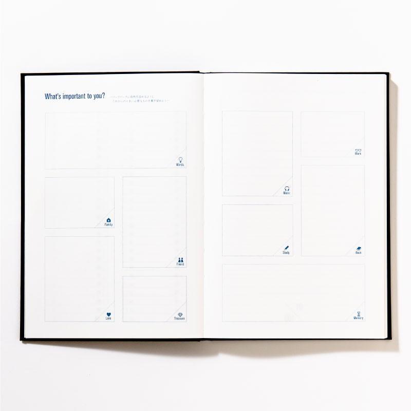【3冊までメール便可】バケットリスト BUCKET LIST 人生でしたい100のことを書くノート to do パスポル paspol 手帳 夢 旅 人生 PBN tonary 04