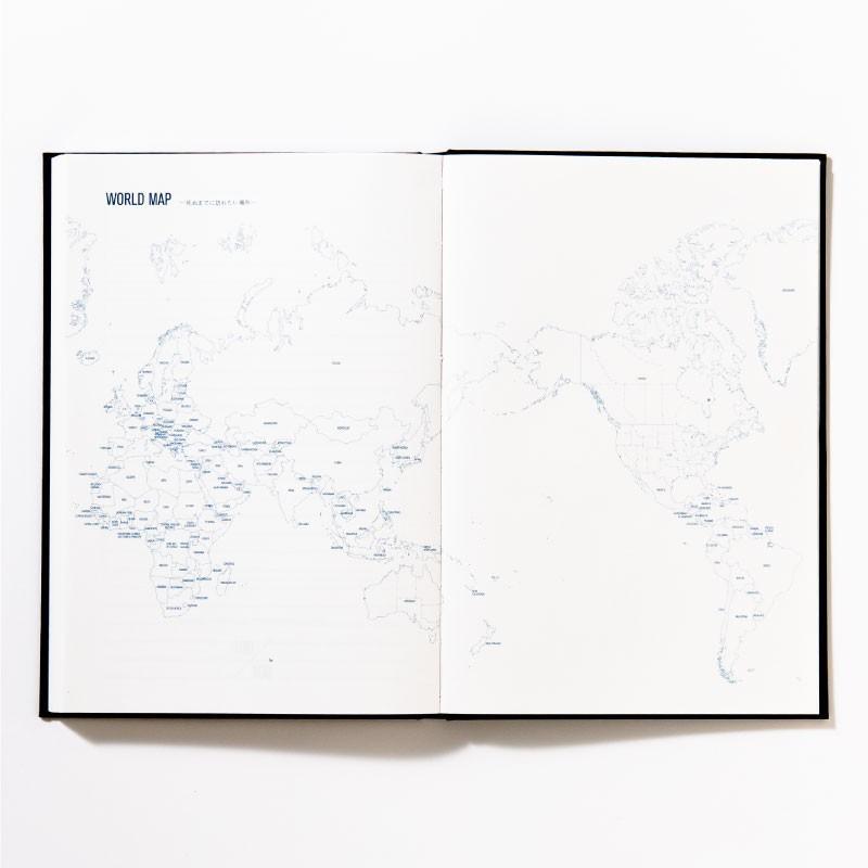 【3冊までメール便可】バケットリスト BUCKET LIST 人生でしたい100のことを書くノート to do パスポル paspol 手帳 夢 旅 人生 PBN tonary 06