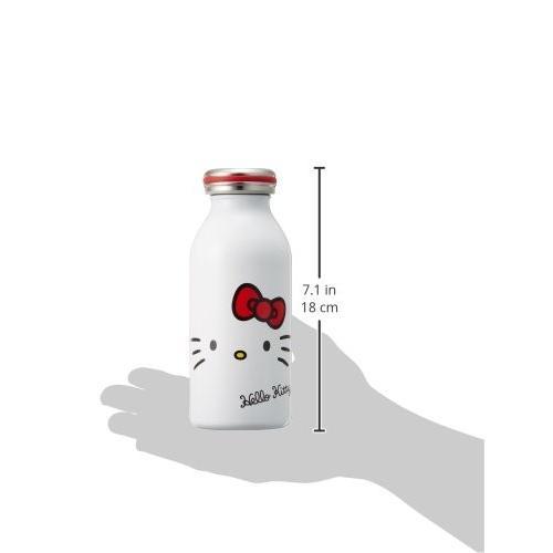 水筒 真空断熱 スクリュー式 ハローキティ マグ ボトル 0.35L フェイス KTMB350KW mosh×sanrio (モッシュ×サン