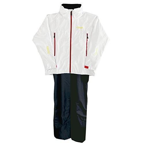 がまかつ(Gamakatsu) レインウェア ゴアテックス スーツ 3L ホワイト GM-3446