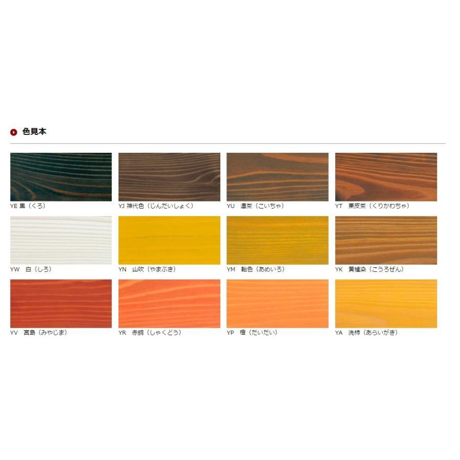アールジェイ 木材保護塗料 いろは カラー 0.8L |tool4u|02