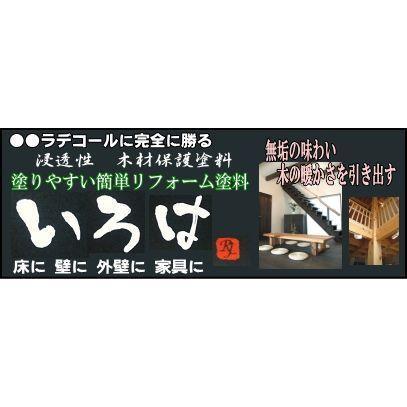 アールジェイ 木材保護塗料 いろは カラー 0.8L |tool4u|03