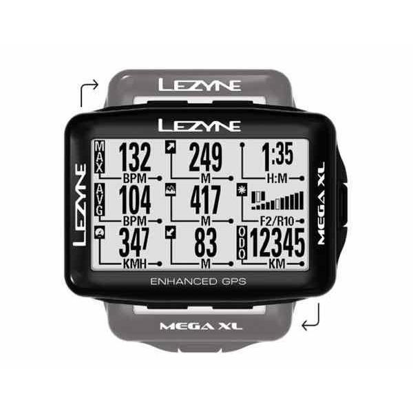 LEZYNE レザイン MEGA XL GPS【サイクルコンピュータ】【USB充電】【自転車】【日本国内正規販売モデル】【スマートフォン連動】【ナビゲーション】 toolate
