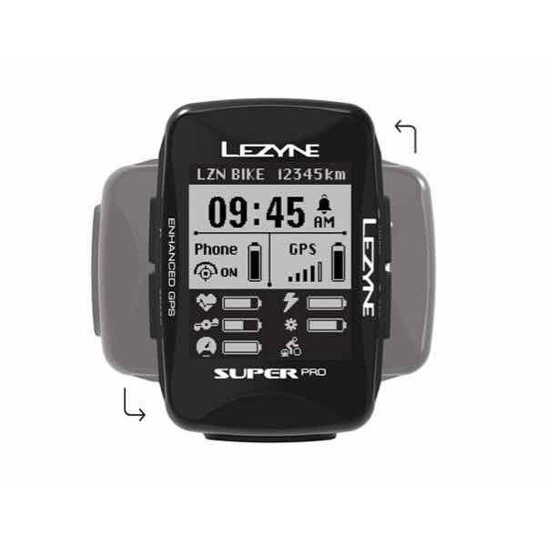 LEZYNE レザイン SUPER PRO GPS【サイクルコンピュータ】【USB充電】【自転車】【日本国内正規販売モデル】【スマートフォン連動】【ナビゲーション】|toolate|02