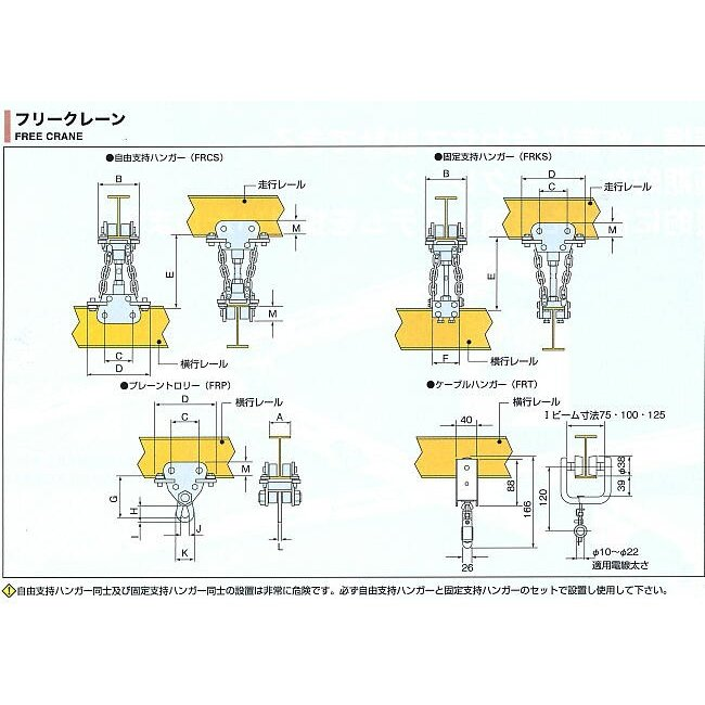 クレーン FRC05S フリークレーン    スーパーツール