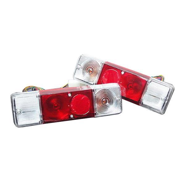 スズキ ジムニー テールランプユニット ウィンカー部 クリア 社外バンパー専用|toolshop-dream