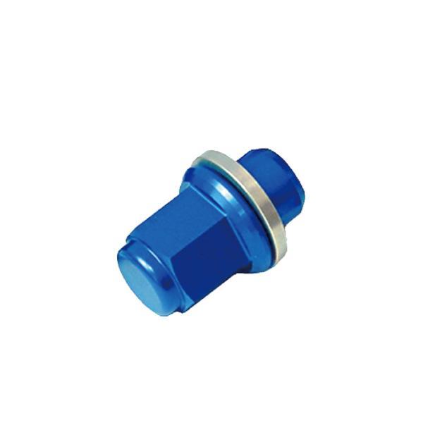 トヨタ アクア カラーホイールナット  国産 純正アルミホイール 専用 青|toolshop-dream
