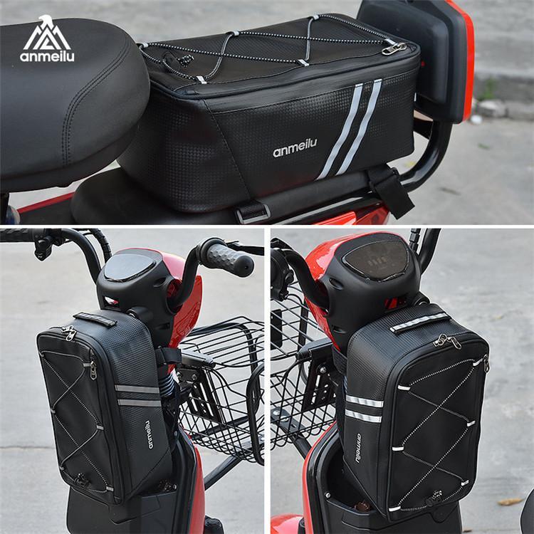 サイクリングバッグ 自転車 バッグ サイクル 防水 ロードバイク バイク フロントバッグ フレームバッグ コンパクト 軽量 大容量 多機能|top-torendo|05