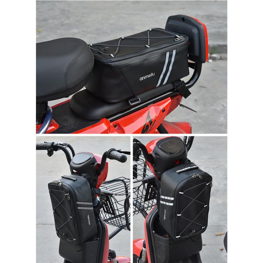 サイクリングバッグ 自転車 バッグ サイクル 防水 ロードバイク バイク フロントバッグ フレームバッグ コンパクト 軽量 大容量 多機能|top-torendo|09