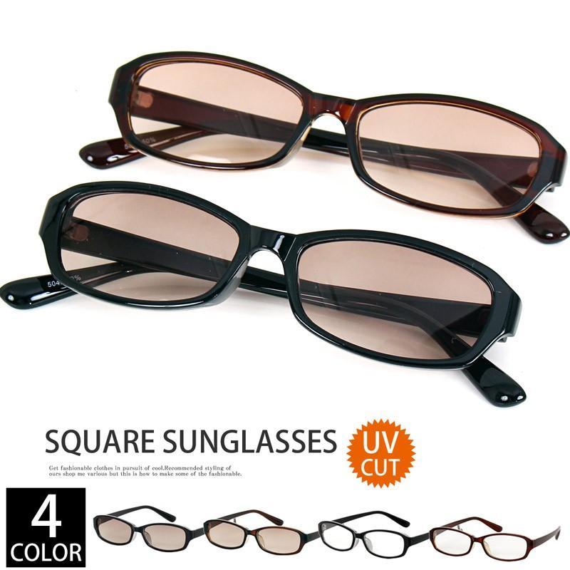 スクエア型サングラス サングラス メンズ 伊達メガネ 眼鏡 メガネ 伊達めがね 黒ぶち眼鏡|topism|02