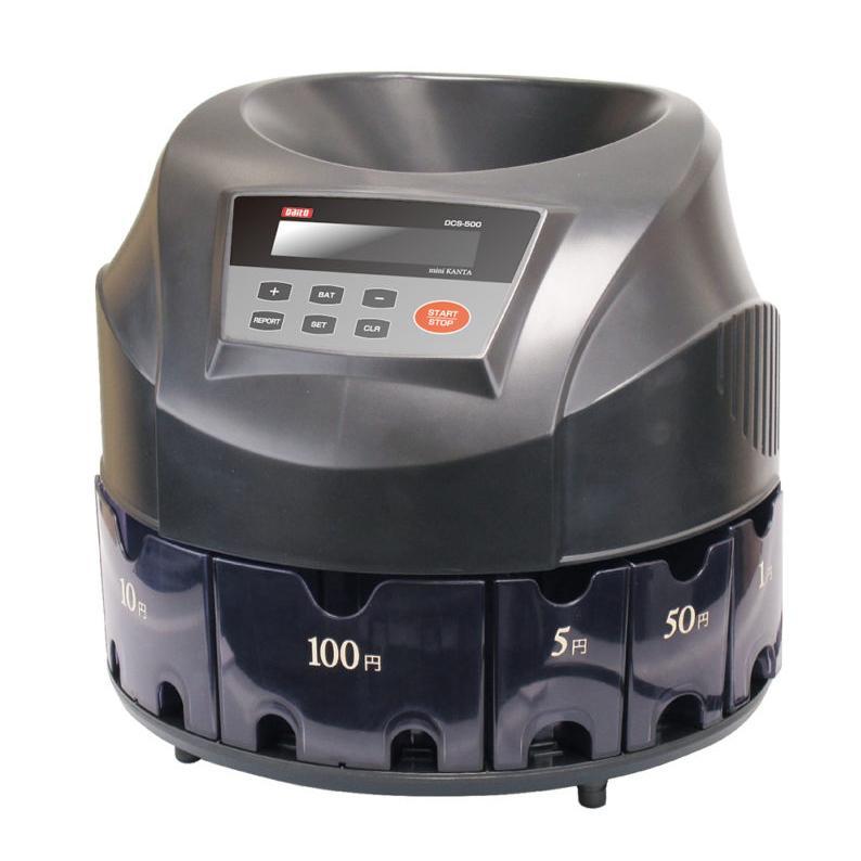 ダイト 硬貨選別計数機 コインソーター 勘太mini DCS-500