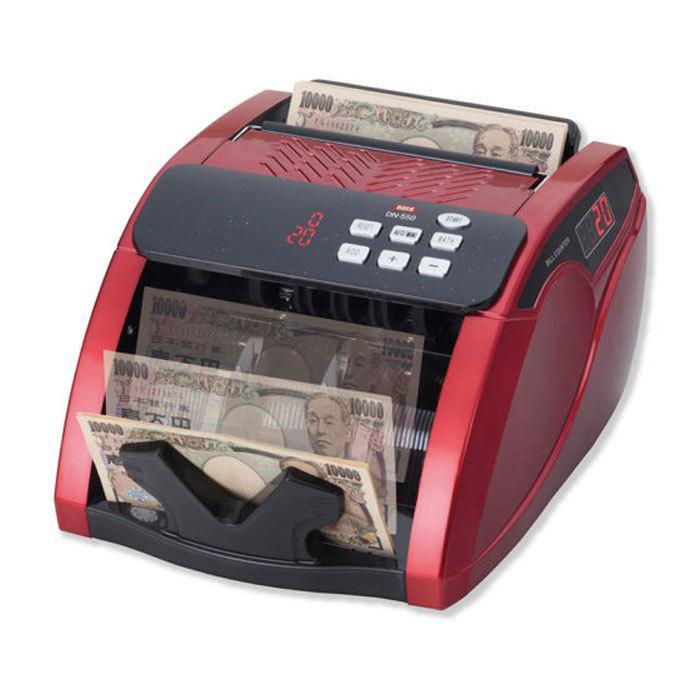 紙幣計数機 マネーカウンター DN-550 ダイト 紙幣計算機