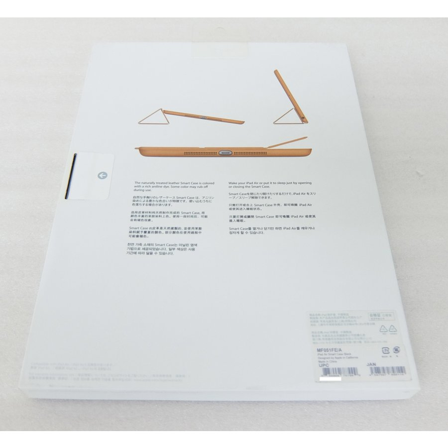 Apple 純正 iPad Air Smart Case MF051FE/A ブラック|topone1|03