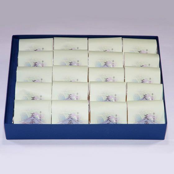 黄身餡を包み込んだ、バニラ風味の乳菓 榮山銘菓 天平花 20個入り|toramin|03