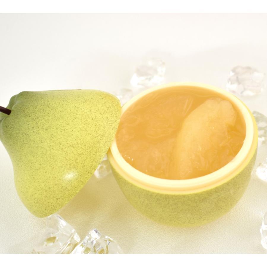 フルーツアラモード 4個入 ゼリー ギフト りんご ラフランス もも メロン  かわいい フルーツ容器入 フルーツゼリー 内祝  京寿楽庵 お取り寄せ お中元 父の日|toraya-sweets|09