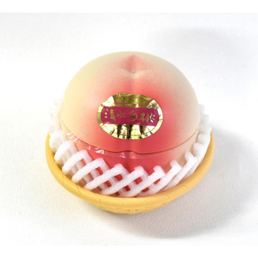 フルーツアラモード 4個入 ゼリー ギフト りんご ラフランス もも メロン  かわいい フルーツ容器入 フルーツゼリー 内祝  京寿楽庵 お取り寄せ お中元 父の日|toraya-sweets|06
