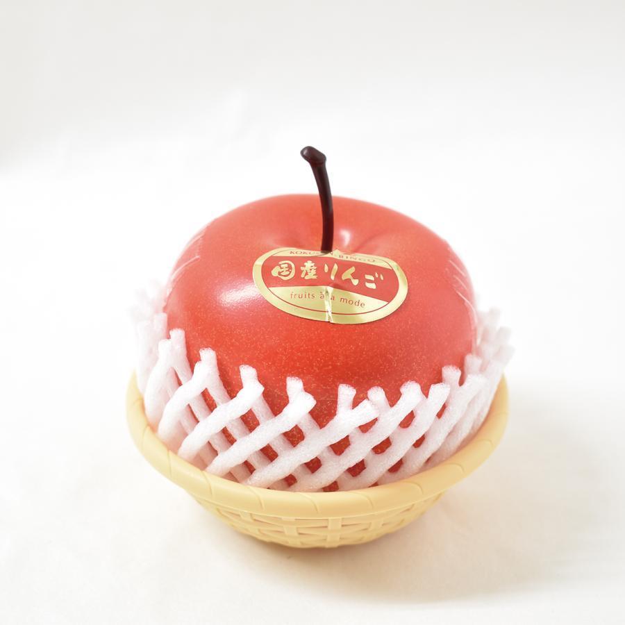 フルーツアラモード フジりんご 1ケース/12個入 りんごゼリー かわいい フルーツ容器 フルーツゼリー 京寿楽庵 お取り寄せ お中元 父の日|toraya-sweets
