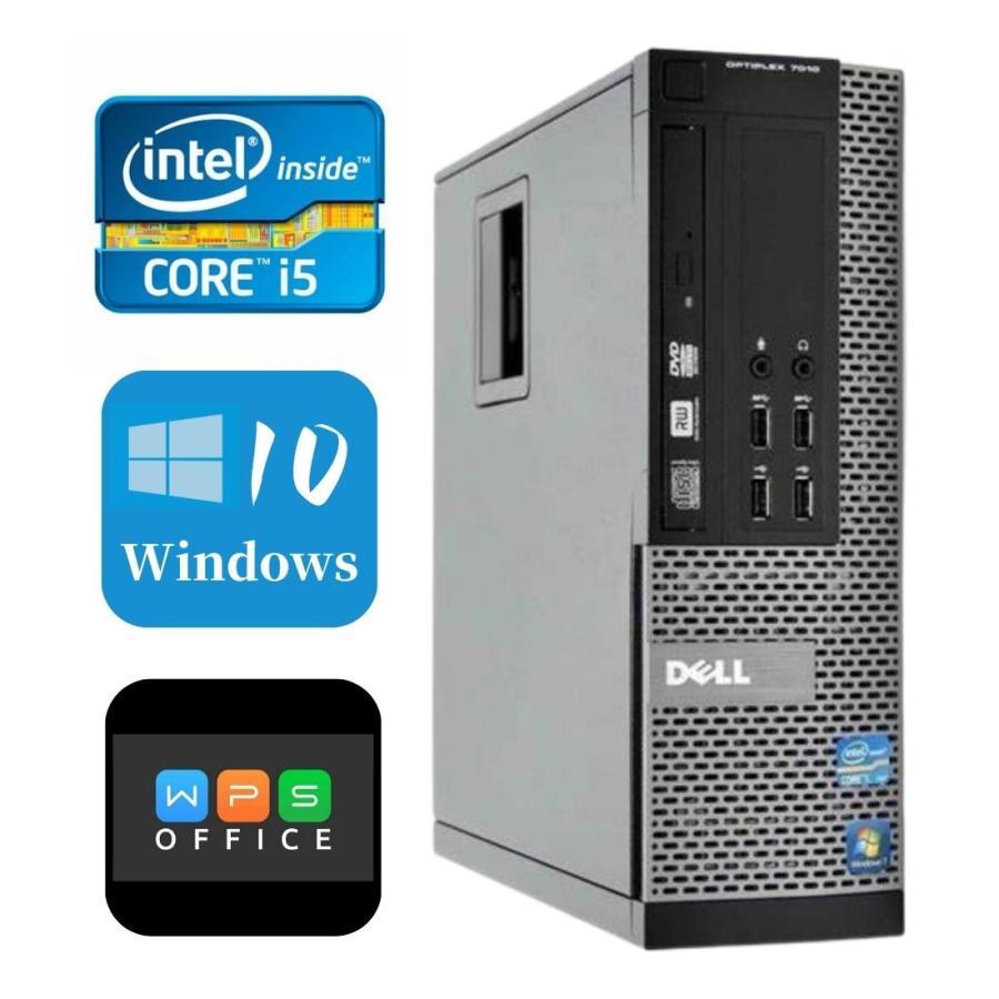 ポイント10倍 人気 特価キャンペーン DELL Windows10PC Win10 32Bit デスクトップパソコン 本体 Optiplex 7010SFF DVD Office 格安 送料無料 無線Wifi 4GB 250GB